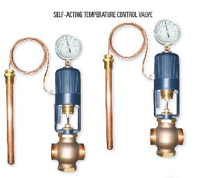 Self Acting Temperature Control Valve
