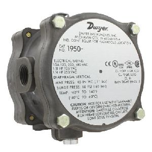 Series 1950 Explosion Proof Differential Pressure Switch