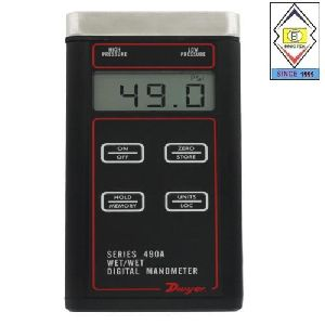 SERIES 490A Hydronic Differential Pressure Manometers