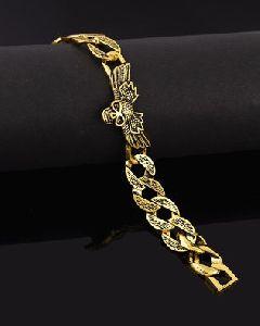 Handmade Oxidised Silver Death Angel Bracelet