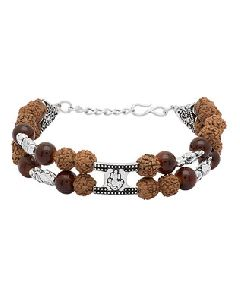 Rudraksha Ganesh Bracelet