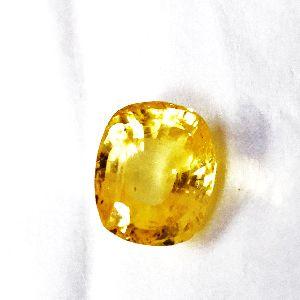Yellow Sapphire Gems Stone