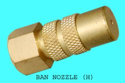 Brass Ban Nozzles