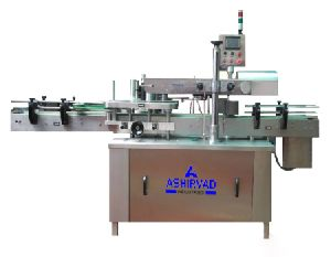 Automatic Flat Bottle Single Side Sticker Labeling Machine