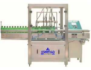 Automatic Pesticide Liquid Bottle Filling Machine