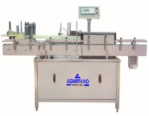 Automatic Round Bottle Sticker Labeling Machine