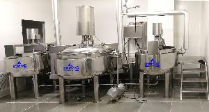 Ointment Process Plant