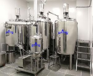 Oral Liquid Process Plant