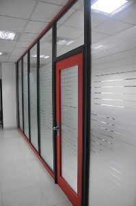 Hexa-P Single Glazed Office Partitions