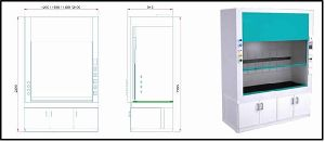 Low Bench Type Fume Hood