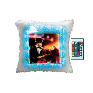LED Sublimation Cushions With Remote
