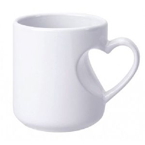 Sublimation Heart Cut  Mug