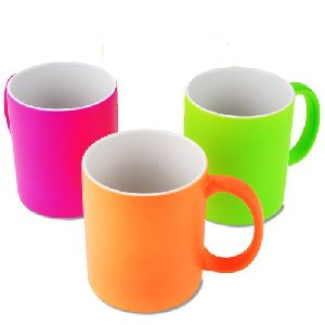 Sublimation Soft Touch Neon  Mug