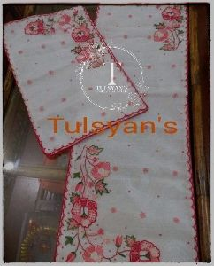 Embroidered Dining Table Cover Set