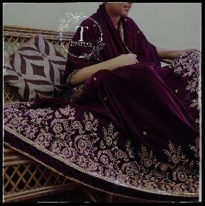 Zardosi Work Saree