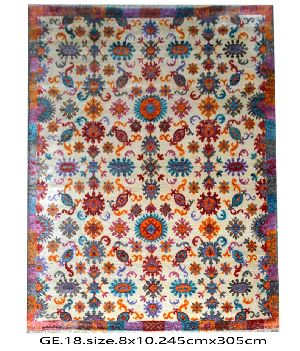 GE-001 HKT Hand Knotted 5-5 Quality Carpets