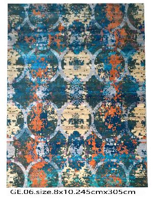 GE-002 HKT Hand Knotted 5-5 Quality Carpets