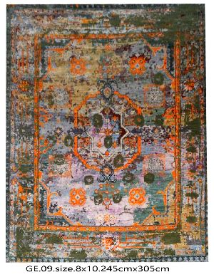 GE-006 HKT Hand Knotted 5-5 Quality Carpets