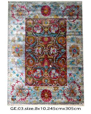 GE-007 HKT Hand Knotted 5-5 Quality Carpets