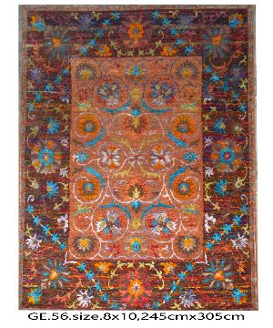 GE-008 HKT Hand Knotted 5-5 Quality Carpets