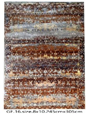 GE-009 HKT Hand Knotted 5-5 Quality Carpets