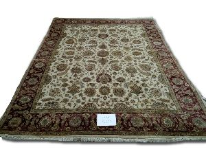 GE-1100  Hand Knotted Silk Carpets