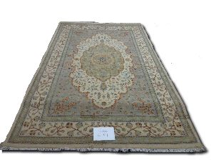 GE-1101  Hand Knotted Silk Carpets