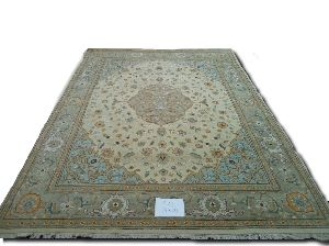 GE-1102  Hand Knotted Silk Carpets