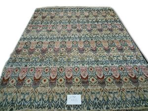 GE-71 Hand Knotted Sari Silk & Cotton Carpets