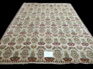 GE-74 Hand Knotted Sari Silk & Cotton Carpets