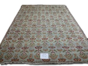 GE-75 Hand Knotted Sari Silk & Cotton Carpets