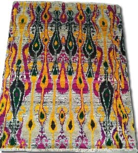 Hand Knotted Sari Silk & Cotton Carpets