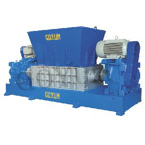 Dual Shaft Solid Waste Shredder