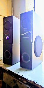 Double DJ tower...