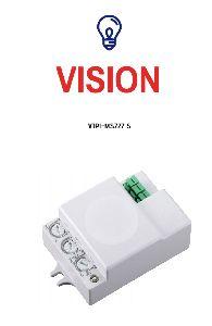 Hidden Mount Microwave Sensor For Energy Saving