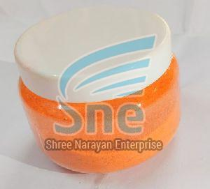 Orange Rangoli Powder