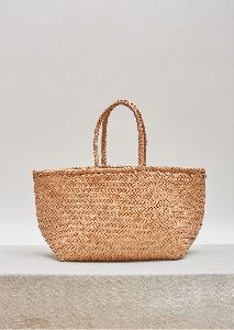 Woven leather tote Grace bag big Free shipping worldwide