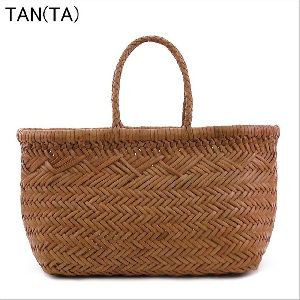 woven leather tote bag 6 jump
