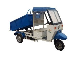 Electric Garbage E Rickshaw