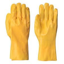 Plain Unisex PVC Hand Gloves