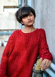 Designer Knitted Sweater