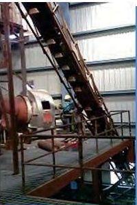 High Angle Conveyor System