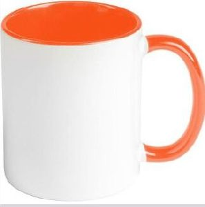 Colored Handle Mugs