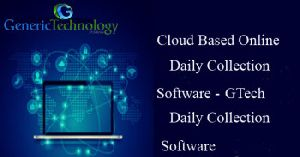 Cloud Based Online Finance Daily Collection Software