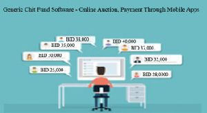 online auction generic chit fund software