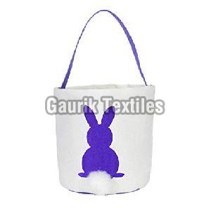 Printed Cotton Basket