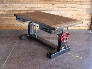 Adjustable Height Office Table