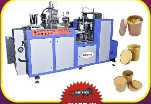 Automatic Paper Container Forming Machine