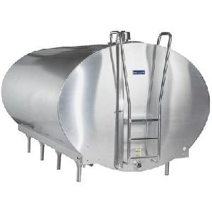 SS Insulated Milk Storage Tank