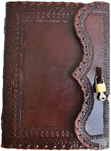 Genuine 10x7 Inches Large Leather Journal Vintage Antique Style Organizer Blank Notebook Diary